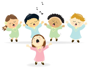 Easter Choir singing