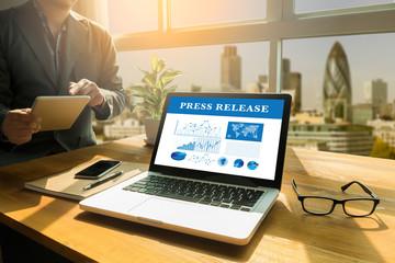 Press Release  concept Fototapete
