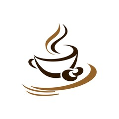 coffe cafe vector logo