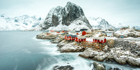 Fisherman's village, Lofoten island