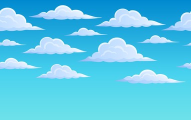 Clouds on sky theme 2