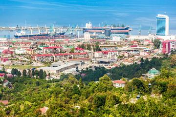 Batumi aerial view