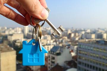 Fototapeta clefs de chez soi obraz
