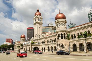Fotorolgordijn Kuala Lumpur Sultan Abdul Samad Building in Kuala Lumpur