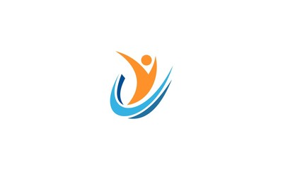 happy people business logo