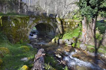 Puente en el arroyo Solana Toro, Avila