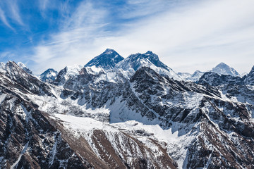 Obraz Krajobraz Everest, Himalaje - fototapety do salonu