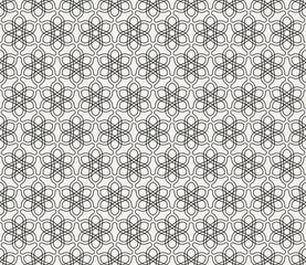 Abstract, modern background, islamic geometric seamless pattern