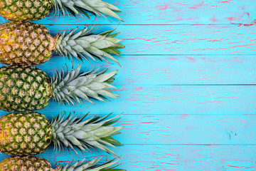 Tropical fruit theme background