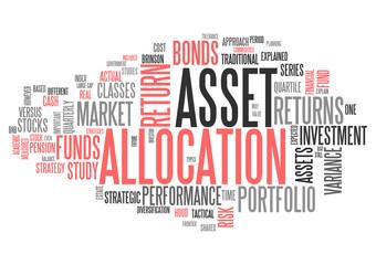 Word Cloud Asset Allocation