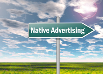 Signpost Native Advertising