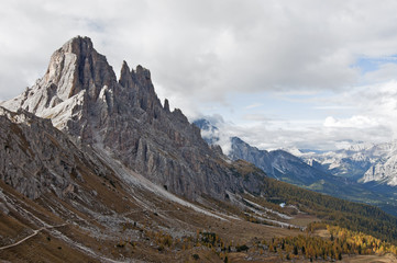 Dolomites, Italy. / The Dolomites  are a mountain range located in northeastern Italy.