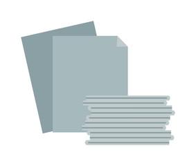 Paper stack vector illustration