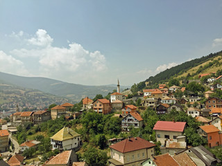 Historical old town,Travnik in the Bosnia and Herzegovina
