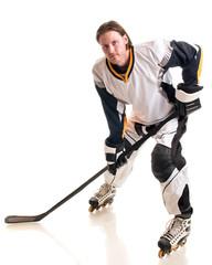 Roller Hockey Player