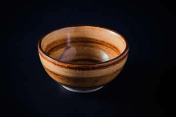 bowl with filter effect retro vintage style