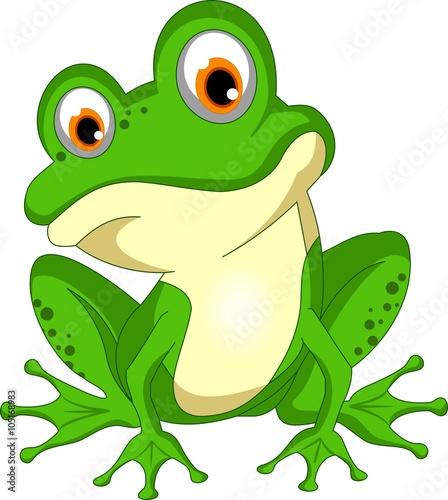 frosch cartoon kroete froschk nig amphibien stockfotos. Black Bedroom Furniture Sets. Home Design Ideas