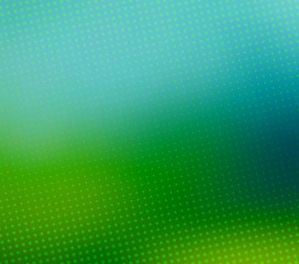 Green blurred halftone vector background