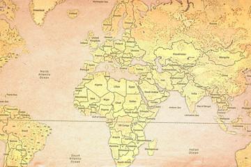 Atlas Retro Map