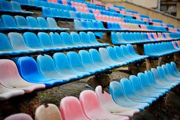 old stadium chairs