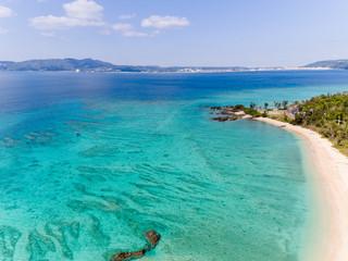 沖縄海灘空拍
