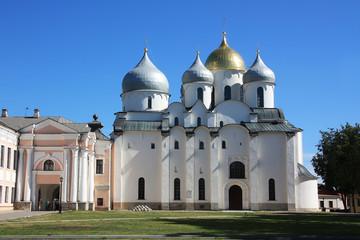Sophienkathedrale im Kreml von Weliki Nowgorod. Russland