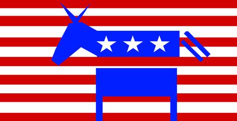 US Election, donkey Democrat