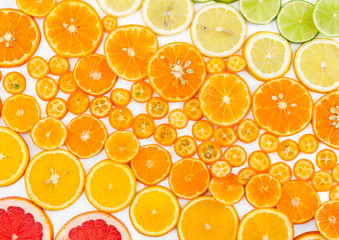 Fruit citrus background.