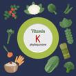 Vitamin K infographic
