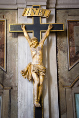 gekreuzigter Christus