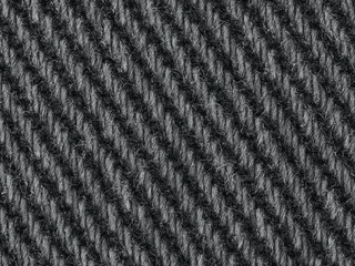 Black denim jeans fabric closeup macro texture background pattern