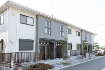 Fototapeta 住宅 アパート イメージ メゾネットタイプ 相続対策 減価償却 不動産投資 アパート経営 obraz