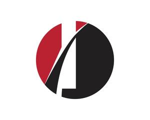 I red letter circle logo
