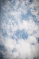 Clouds and sky, natural background