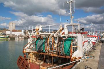 Retour de pêche à Saint Guénolé, Finistère, Bretagne
