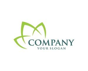 Natural care logo healthy vector