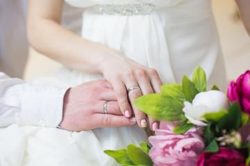 wedding, flowers, love