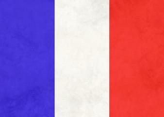 France Vintage Flag