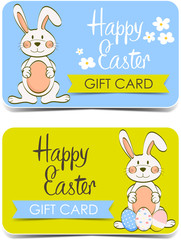 Happy Easter. Gift cards.