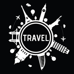 Travel and tourism logo