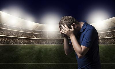 Derrota no futebol