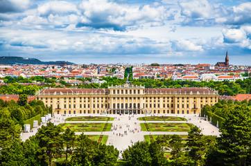 Papiers peints Vienne Schloss Schonbrunn, Vienna, Austria