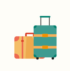 Gepäck Baggage Vektor