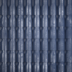 Scratched grunge metal abstract background