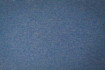 Blue fabric texture pattern background.