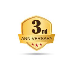 3 years anniversary logo