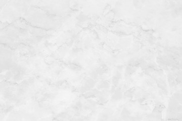 White marble background.