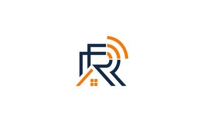 Letter R wifi