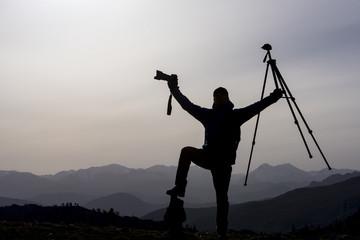 dağlarda macera ve fotoğraf keyfi