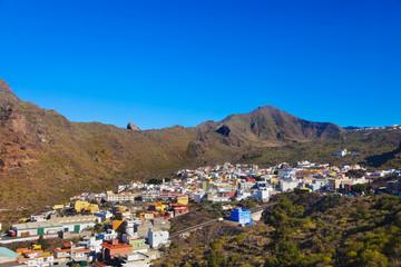 Village in Tenerife island - Canary